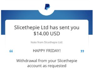 Further Payment Proof Slicethepie