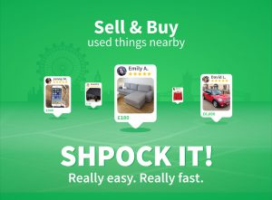 Shpock App buy and sell