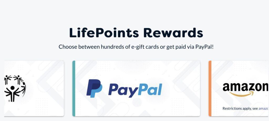 Rewards At LifePoints