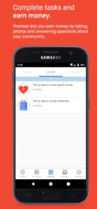 Premise App tasks