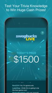 Win Prizes With The Swagbucks Live App