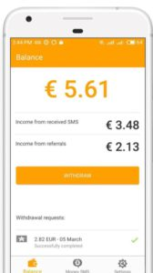 SMS Money App Review