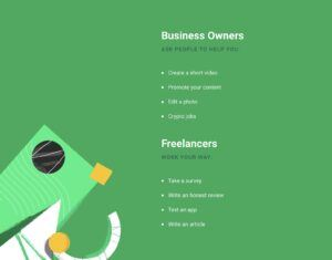 Picoworkers-A website for freelancers and business owners