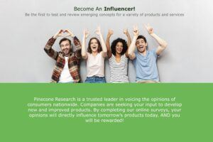 Become an influencer with PineCone Research