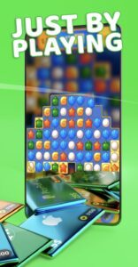 Play games with the Cash'em all App